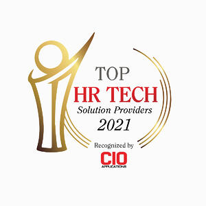 Top HR Tech Solution Providers 2021, Recognized by CIO Applications.