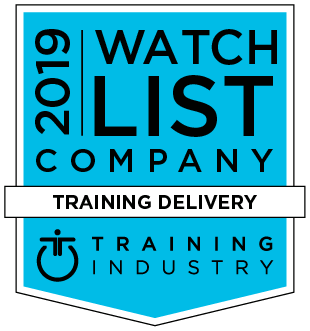 2019 Training Industry Top Training Companies logo