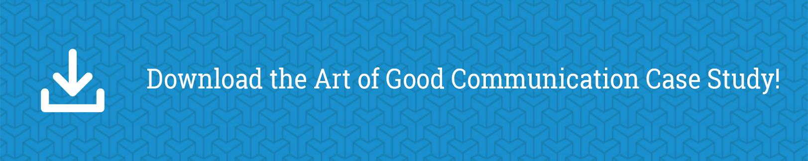 Art of good communication