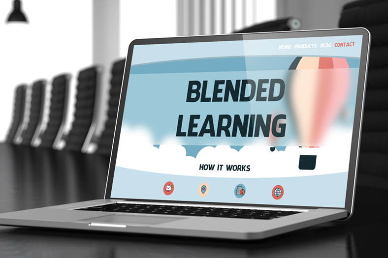 Blended Learning laptop