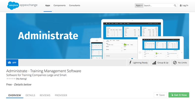 Salesforce and Administrate