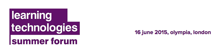 Learning Technologies Summer Forum 2015 Logo