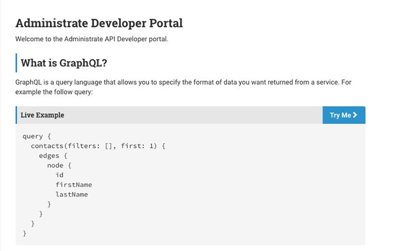 Dev portal