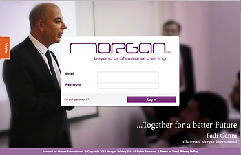 See how Morgan International branded their LMS to match their corporate identity!