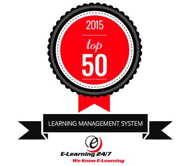 Top 50 LMS 2015 badge