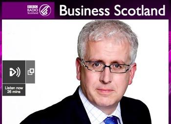 bbc business scotland radio interview