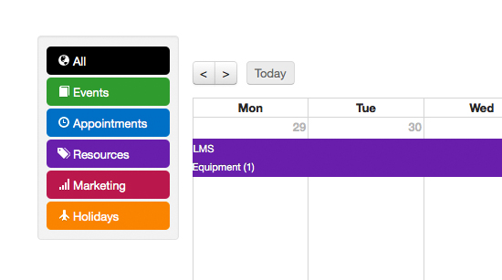 learndirect administrate calendar