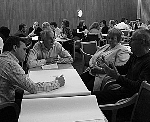 Three different types of cooperative learning