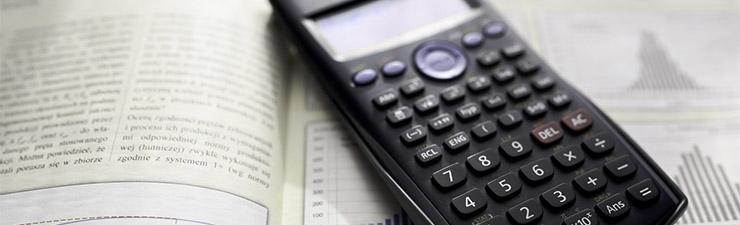 Scientific calculator and graphs