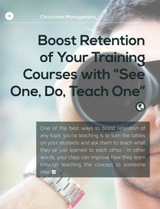 An eBook of Training Tips - How to Deliver Better Training