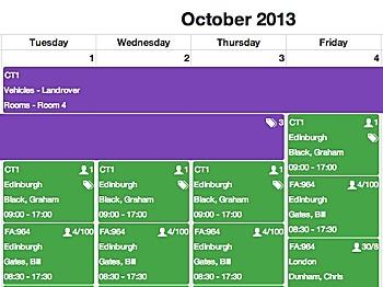 A faster course calendar