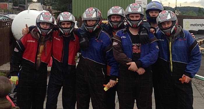 Group picture of Administrate Karting