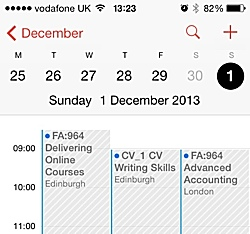iphone calendar subscription