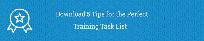 Task list banner