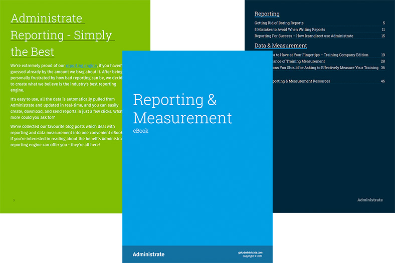 Reporting & Measurement eBook