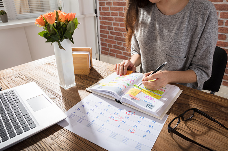 Diary planning