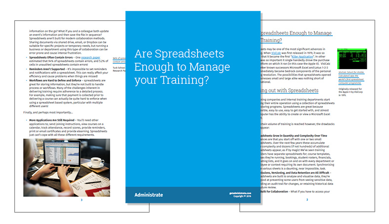 Spreadsheet Ebook
