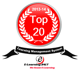 Award for top 20 learning management system