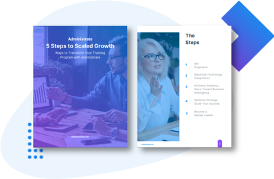 5 Steps to Scaled Growth Drop Shadow Image for Landing Page