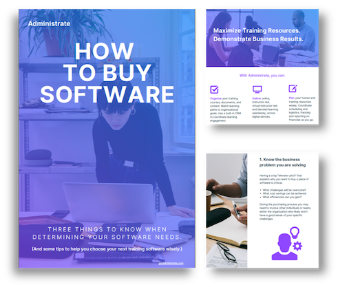 How to Buy Software Landing Page Image (No Background)