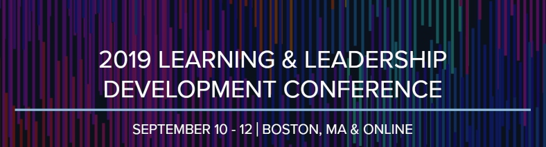 Learning & Leadership Development Conference 2019