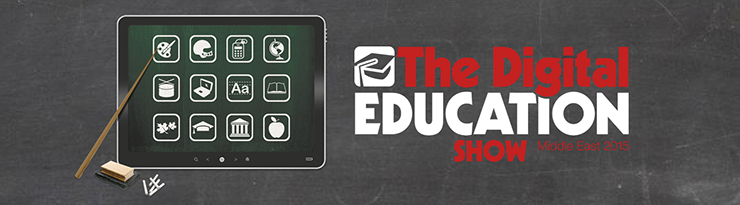 The Digital Education Show Middle East 2015 logo