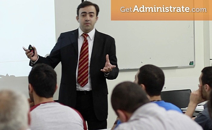 Classroom Instructor using Administrate