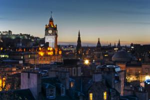 Edinburgh Evening View