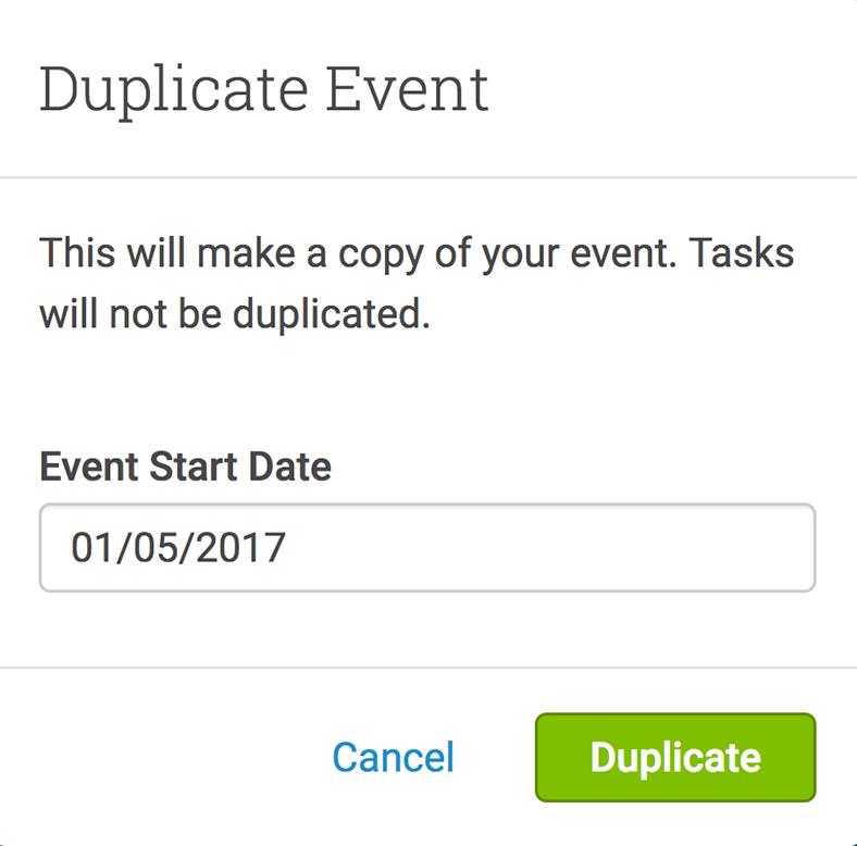 Event duplicator