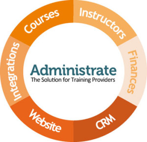 Administrate is integrated software for training providers combining CRM, Course Booking, Event Management, Online Booking, and Accounting