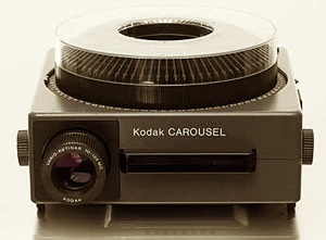 Kodak Carousel slide projection machine