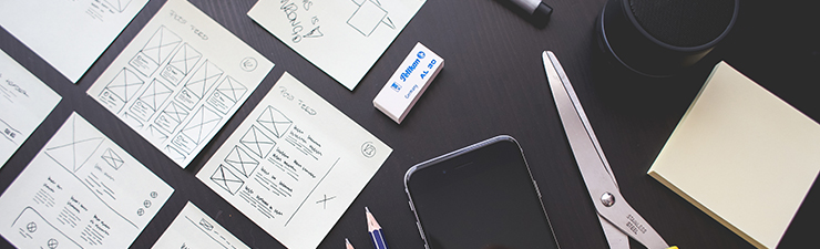 Planning at desk