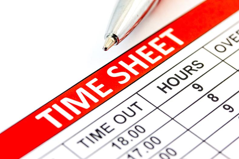 Time sheet