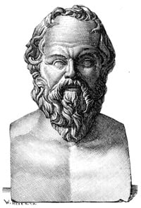 Socrates taught students using the Socratic Method