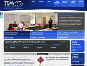 TSW Training saves time with the Administrate training management system.